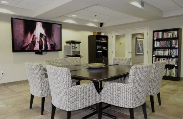 Queensview Amenities Room